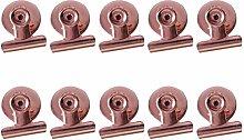 STOBOK 10 Piezas Juego de Pinzas Magnético Clip