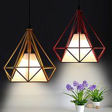 Stoex - (2 Piezas)Lámpara Colgante Antiguo