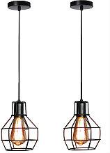 Stoex - 2pcs Lámpara Colgante de Candelabro de