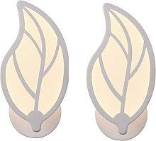 Stoex - 2pcs Lámpara de Pared Aplique LED 9W