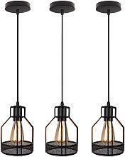 Stoex - 3x Gauze Net Lámpara Colgante Lámpara de