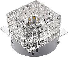 Stoex - Candelabro Cristal Brillante Colgante de