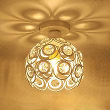 Stoex - Candelabro de Hierro de Metal 26CM Luz de
