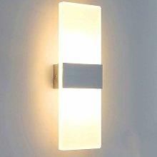 Stoex - Luz de Pared LED Simple Lámpara de Pared