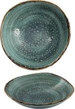 Summa - Vajilla moderna Moon Turquoise Cazoleta.