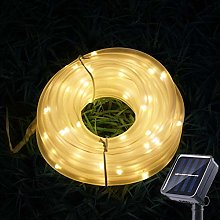 Sunboia Solar Cadena de Luces,50LED Manguera