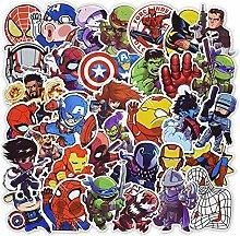 Super Hero Anime Pegatinas de película para