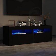 Susany Armario TV con Luces LED Mueble para TV con