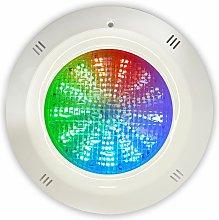 Swimhome - Foco LED RGB 18W 12V DC con cable de 4