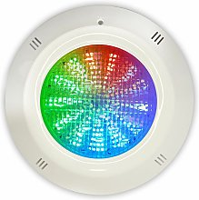 Swimhome - Foco LED RGB ON/OFF 35W 12V AC de