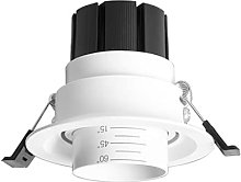 SYunxiang Foco Empotrado LED Blanco con Zoom Foco