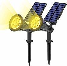 T-SUN (2 Unidades Foco Solar, Lámparas Solar