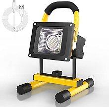 T-SUN 40W Foco LED Bateria Recargable, Foco LED