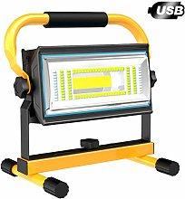 T-SUN 60W Foco LED Recargable Luz de Trabajo, Luz