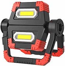 T-SUN Foco LED Recargable, 30W Luz de Trabajo