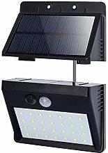 T-SUN Foco Solar Exterior, Luz de Pared al Aire
