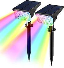 T-SUN Foco Solar Jardín, Impermeable IP65 Luces