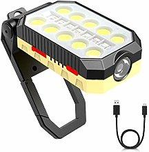 T-SUN LED Luz de trabajo, Foco Led Bateria