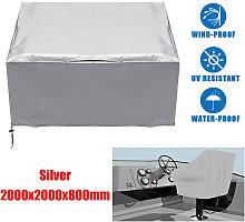 tabla de la cubierta y del impermeable de la silla
