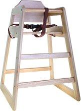 TABLECRAFT 65EU - Trona de madera - 52 x 52 x 76