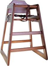 TABLECRAFT 66EU - Trona de madera - 52 x 52 x 76