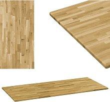 Tablero de mesa rectangular madera maciza roble 23