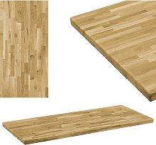 Tablero de mesa rectangular madera maciza roble 44