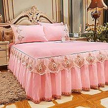 Tables Falda de La Cama Colcha Engrosamiento de La