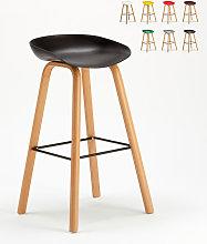 Taburete alto Bar Cocina Efecto Madera Towerwood |