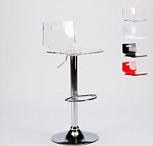 Taburete bar y cocina acero cromado diseño