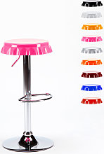 Taburete de diseño con forma de tapón corona bar