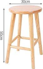Taburete de madera Taburete de madera maciza
