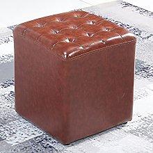 Taburete otomano de acento cuadrado, taburete de