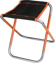 Taburete plegable de aluminio al aire libre, silla
