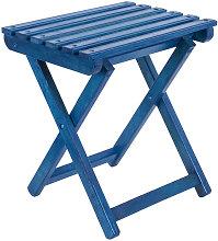 Taburete plegable PESCADOR azul