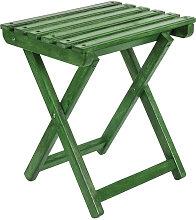 Taburete plegable PESCADOR verde