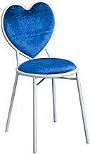 Taburetes de bar, silla en forma de corazón Silla
