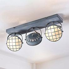 Tamin: lámpara LED de techo en estilo industrial