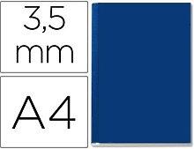 Tapa de encuadernacion channel rigida 35562 azul