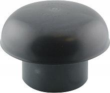 Tapa de ventilación Ø 80 mm Pizarra con