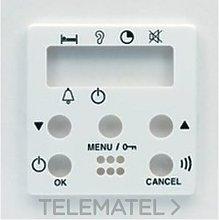 Tapa intercomunicador 2 canal. 2258.6 BM - Niessen
