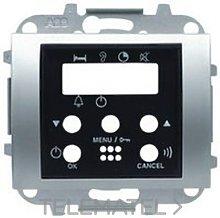 Tapa intercomunicador 2 canal. 8458.6 BL - Niessen