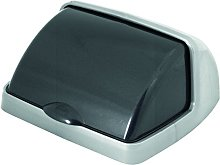 Tapa Roll Top para cubo de basura, 25L, gris