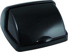 Tapa Roll Top para cubo de basura, 50L, Negro