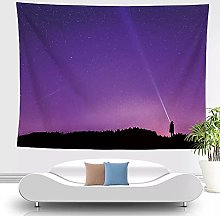 Tapices de Pared de Cielo púrpura decoración de
