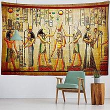 Tapiz 3D Amarillo Tapiz Egipcio Antiguo Colgante
