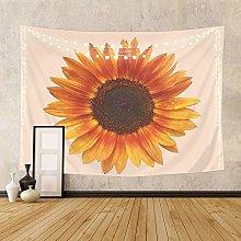 Tapiz De Girasol Amarillo Flor Floral Fondo