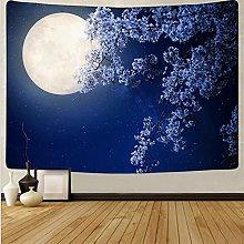 Tapiz de Palmera Tapiz de Luna Mural de Tela Tapiz