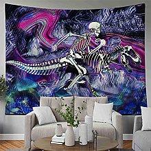 Tapiz hippie decoración dragón alfombra