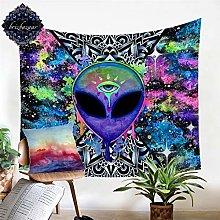 Tapiz negro tapiz hippie hippie pared alfombra